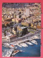 Italie - Napoli - Piazza Municipio E Maschio Angioino - Veduta Aerea - Excellent état - Scans Recto Verso - Napoli