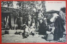 ALBANIA - SOUVENIR DE SHKODRA , K.U.K. FELDPOST 300 - Albanie