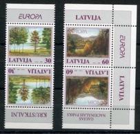 RC 13919 EUROPA 1999 LETTONIE 2 PAIRES NEUF ** MNH - Europa-CEPT