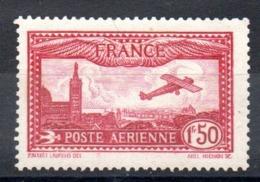 FRANCE - YT PA N° 5 - Neuf * - MH - Cote: 26,00 € - Poste Aérienne