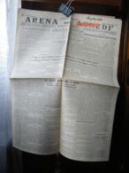 (G22) SETTIMANALE, GIORNALE ARENA DEL LUNEDI GIORNALE FASCISTA, LUNEDI 18 FEBBRAIO 1929 - Riviste & Giornali