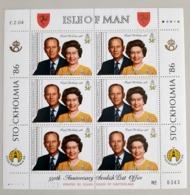 Isle Of Man Blok 319 + 321  1986 - Man (Insel)