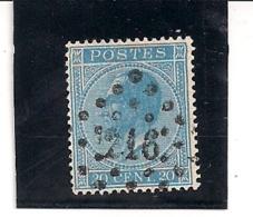 18-LP216-LICHTERVELDE-PERFECTE TANDING - 1865-1866 Profil Gauche