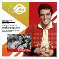 GAMBIE Bloc Elvis Presley (1436) Neuf ** MNH - Gambie (1965-...)