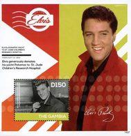 GAMBIE Bloc Elvis Presley (1437) Neuf ** MNH - Gambie (1965-...)