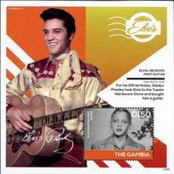 GAMBIE Bloc Elvis Presley (1438) Neuf ** MNH - Gambie (1965-...)