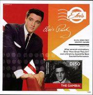 GAMBIE Bloc Elvis Presley (1439) Neuf ** MNH - Gambie (1965-...)