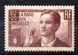 FRANCE - YT N° 418 - Neuf * - MH - Cote: 9,00 € - France