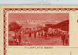 Carte Illustrée Neuve N° 123 - 007 A  FLUGPLATZ BERN (avion - Auto- Chien)  (Zumstein 2009) - Interi Postali