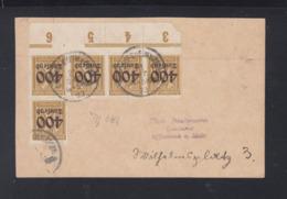 Dt. Reich PK 1923 Bischofsheim Nach Offenbach - Duitsland