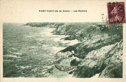 CPA Port - Tudy (iie De GROIX) - Les Rochers (145083) - Groix