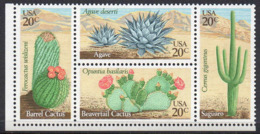 USA 1981 Desert Cacti - Unused Stamps