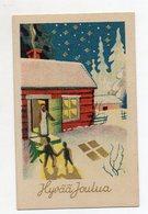 Y7622/ Hyvaa Joulua Weihnachten Finnland Ca.1935  - Kerstmis