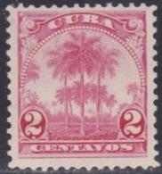 Cuba, Scott #234, Mint Hinged, Royal Palms, Issued 1905 - Cuba