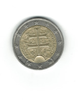 EURO / SLOVAQUIE 2009  / Pièce De 2 Euros De Circulation / Usage Courant // - Slovaquie