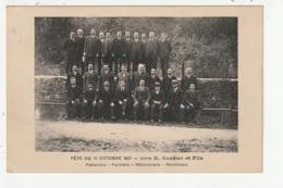 FOUGERES - FETE DU 10 OCTOBRE 1921 - USINE H. CORDIER ET FILS - PATRONIERS - FORMIERS - MECANICIENS - MENUISIERS - 35 - Fougeres