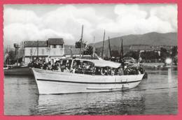 83 Les Salins D Hyeres Bateau N D De Laguet ( Laghet ) Pour Iles Port Cros Et Levant Env Toulon La Crau Le Lavandou - France