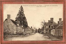 CPA - Environs De BAGNOLES-de L'ORNE (61) - SAINT-MICHEL-des-ANDAINES - Entrée Du Bourg Par La Route De La Ferté - 1947 - Autres Communes