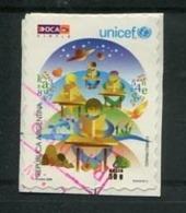 UNICEF - ESTAMPILLA AUTOADHESIVA USADA, OCA CORREO PRIVADO ARGENTINA 2008. PRIVATE COURIERS AUTOADHESIF STAMP USED LILHU - Argentina