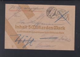 Dt. Reich Dienstbrief 1942 Korbach Vöhl - Briefe U. Dokumente