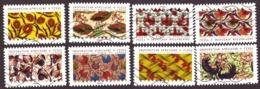 France  2019  -  Tissus Du Monde (8 Timbres Différents) Oblitéré   Eight Stamps Adhesives ** TBE ** - France