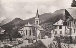 Chatel  - Place De L'église - Cpsm Format Cpa  - Scan Recto Verso - Châtel