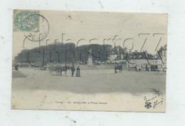 Avallon (89) : Le Parking Des Attelage Place Vauban En 1906 (animé) PF. - Avallon