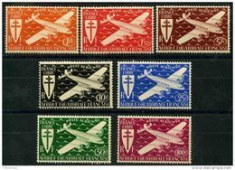 AEF (1941) PA N 22 à 28 * (charniere) - A.E.F. (1936-1958)
