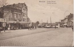 Merksem Oude Bareel Met 2 Trams Gelopen Prachtkaart - Antwerpen