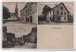 CPA 68 : FISLIS - Eglise - Grand'Rue - Epicerie Et Mercerie MONA - Ed. Kanitzer à Mulhouse - - Other Municipalities