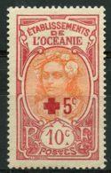 Oceanie (1915) N 42 * (charniere) - Oceania (1892-1958)