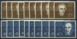 ENGROS 315-19 **, 1959, Beethoven, 10 Prachtsätze, Mi. 200.- - BRD
