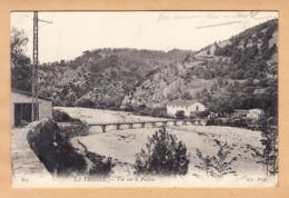 CPA La Trinite, Vue Sur Le Paillon, Ungel. - Frankreich