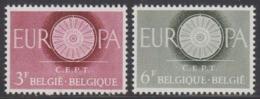 Europa Cept 1960  Belgium 2v ** Mnh (44830A) - 1960