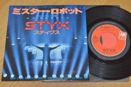 Styx 45t Vinyle Mr.Roboto Japon - Hard Rock & Metal