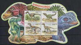 A291. Guinea-Bissau - MNH - 2011 - Nature - Animals - Prehistorics - Stamps