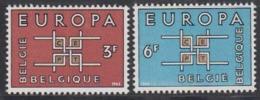 Europa Cept 1963 Belgium 2v ** Mnh (44830D) - Europa-CEPT