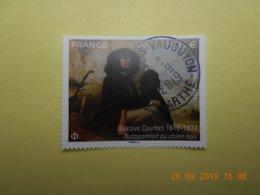 FRANCE 2019  Portait Gustave COURBET   Beau Cachet  Rond Sur Timbre Neuf - Frankreich