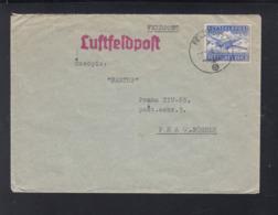 Dt. Reich Feldpostbrief 1942 FP 00049 Tscheche Nach Prag - Briefe U. Dokumente