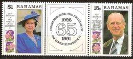 Bahamas Bahama's 19891Yvertn° 748-749 *** MNH Cote 4,50 Euro - Bahamas (1973-...)