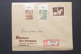 Deutsches Reich: 1943 Rgt. Cover To (?) (#NT7) - Storia Postale