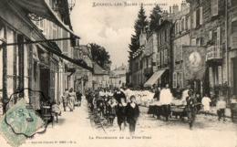 LUXEUIL LES BAINS ( 70 ) - La Procession De La Fete Dieu - Luxeuil Les Bains