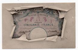 MONNAIE* BILLET * CINQUANTE FRANCS * - Coins (pictures)