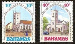 Bahamas Bahama's 1986 Yvertn° 617-618 *** MNH Cote 1,75 Euro - Bahamas (1973-...)