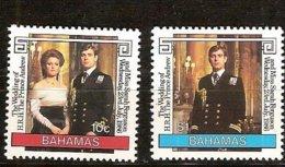 Bahamas Bahama's 1986 Yvertn° 600-601 *** MNH Cote 3 Euro - Bahamas (1973-...)