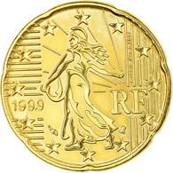 France, 20 Euro Cent, 1999, SUP, Laiton, Gadoury:4., KM:1286 - France