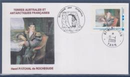 = Henri Paschal De Rochegude Terres Australes Et Antartiques Françaises MonTimbraMoi Rochegude Aux Kerguelen 15.4.09 - Events & Commemorations