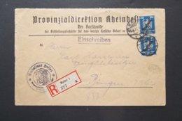 Deutsches Reich: 1927 Rgt. Cover To Ringen (#NT9) - Germany