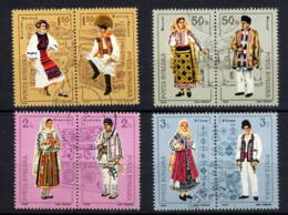 ROUMANIE ROMANA 1985, Costumes Divers, 8 Valeurs, Oblitérés / Used. R098 - 1948-.... Republiken