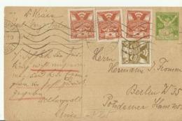 TCH GS 1921 - Ganzsachen
